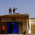 Soldiers Discuss The New Iraqi Police by Stocktrek Images