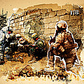 Soldiers On The Wall by Jeff Steed