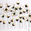 Soliloquy -Floral Flower Nature Painting by Catherine Jeltes