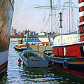 South Street Sea Port Print by Roelof Rossouw