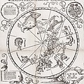Southern Hemisphere Star Chart, 1537 by Middle Temple Library