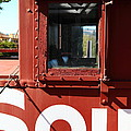 Southern Pacific Caboose - 5d19235 by Wingsdomain Art and Photography