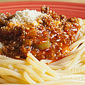 Spaghetti Bolognese Dish by Andre Babiak