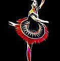 Spanish Ballerina by Stefan Kuhn