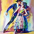 SPANISH DANCE Print by David Lloyd Glover