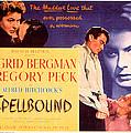 Spellbound, Ingrid Bergman, Gregory by Everett