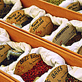 Spices On The Market by Elena Elisseeva