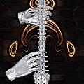 Spine - Instrument of Life Print by Joseph Ventura