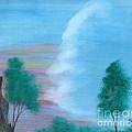 Split Sky by Robert Meszaros