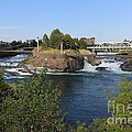 Spokane Falls Hdr by Carol Groenen