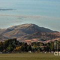 Sport Complex And The Butte by Robert Bales
