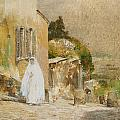 Spring Morning at Montmartre Print by Childe Hassam
