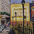 Spring Street At Basin Park by Sam Sidders
