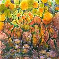 Spring Time Flowers by Audrey Peaty