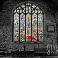 St Dyfnog Window by Adrian Evans