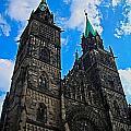 St. Lorenz Church - Nuremberg by Juergen Weiss