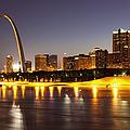 St Louis Skyline Print by Bryan Mullennix