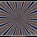 Stained Glass Kaleidoscope 49 by Rose Santuci-Sofranko
