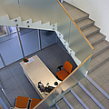 Stairwell in and Office Print by Jaak Nilson
