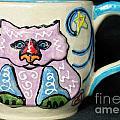 Star Kitty Mug by Joyce Jackson