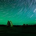 Starry Landscape by Marius Sipa