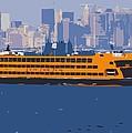 Staten Island Ferry Color 16 by Scott Kelley