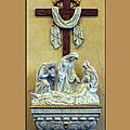 Station Of The Cross 13 by Thomas Woolworth