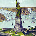 Statue Of Liberty. The Great Bartholdi by Everett