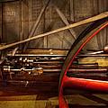 Steampunk - Machine - The wheel works Print by Mike Savad