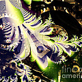 Steampunk Abstract Fractal . S2 by Wingsdomain Art and Photography