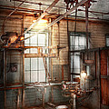 Steampunk - Machinist - The Grinding Station by Mike Savad