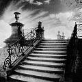 Steps At Chateau Vieux by Simon Marsden