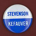 Stevenson Campaign Button by Granger