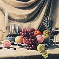 Still Life On A Gold by Oleg Bylgakov