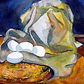 Still Life With Eggs by Mindy Newman