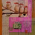 Stock Up Big Print by Adam Kissel