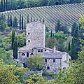 Stone Farmhouse Near Montefioralle by Jeremy Woodhouse