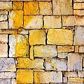 Stone Wall Print by Carlos Caetano