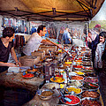 Storefront - The Open Air Tea And Spice Market  by Mike Savad