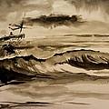 Stormy Arrival by Scott Nelson