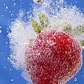 Strawberry Soda Dunk 1 by John Brueske