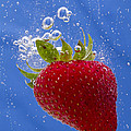 Strawberry Soda Dunk 3 by John Brueske