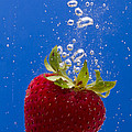 Strawberry Soda Dunk 5 by John Brueske