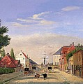 Street Scene by Danish School