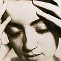 Stressed Woman by Cristina Pedrazzini