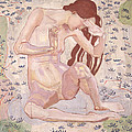 Study For Day by Ferdinand Hodler