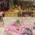Study For The Roses Of Heliogabulus by Sir Lawrence Alma-Tadema