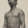 Study Of A Negro Man by Henry Ossawa Tanner