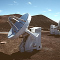 Submillimetre Array Telescopes by Magrath Photography