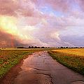 Summer Storm Raf Lavenham by Jan W Faul
